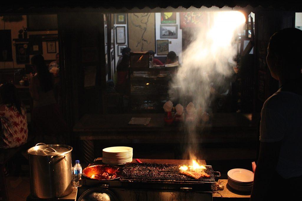 Best restaurants in Ubud: Naughty Nuri's, Ubud, Bali