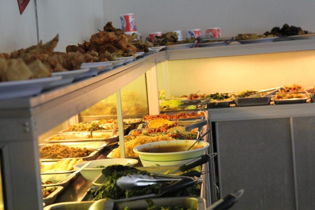 Best restaurants in Seminyak: nasi campur at Warung Aneka Rasa, Seminyak Bali