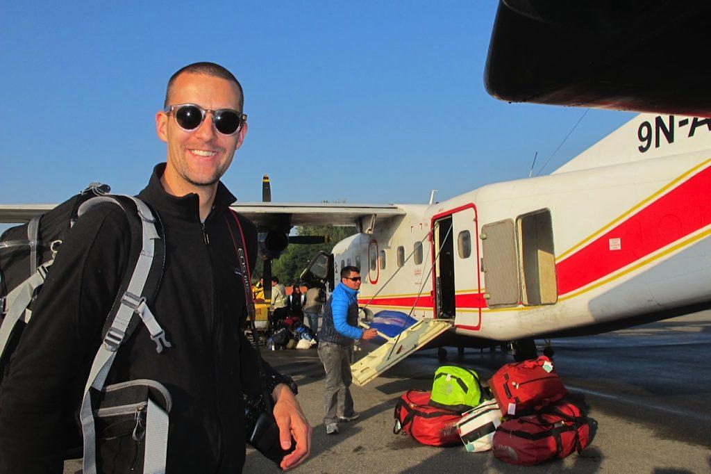 Everest Base Camp trek Kathmandu airport Thomas