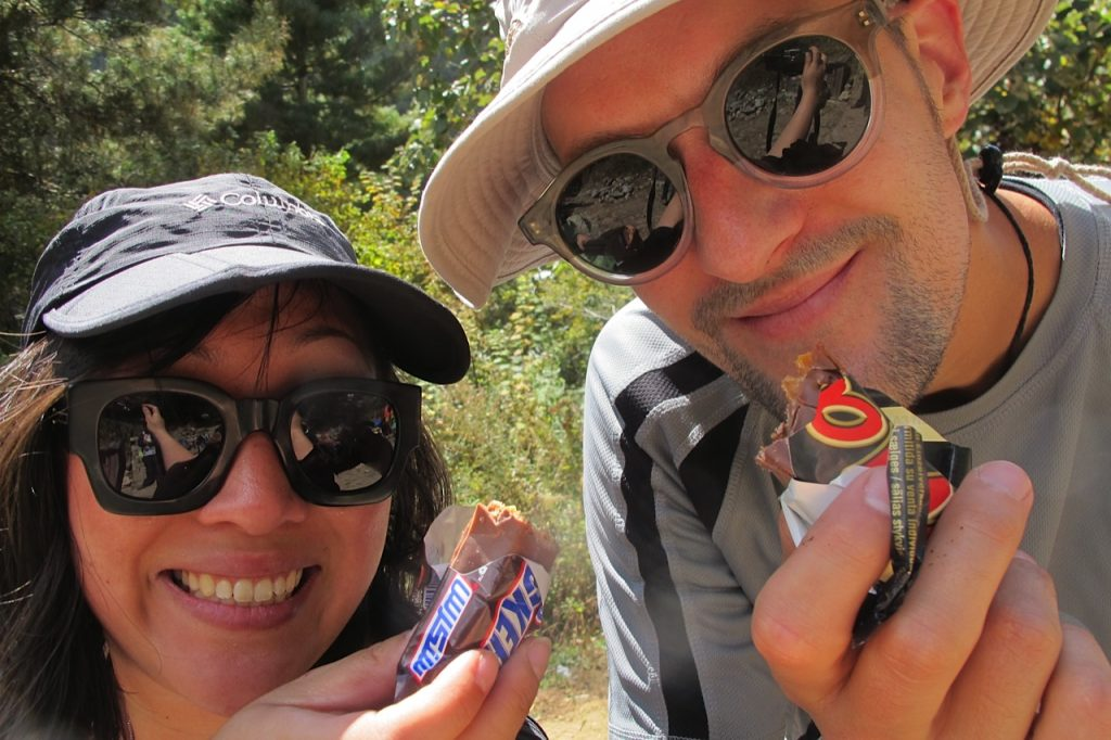 Everest Base Camp trek Nepal Sheena and Thomas