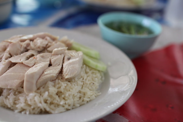 Chicken on rice, Bangkok, Thailand