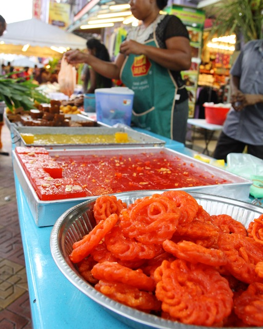 What to see in Kuala Lumpur: traditional Indian sweets for sale in Brickfields