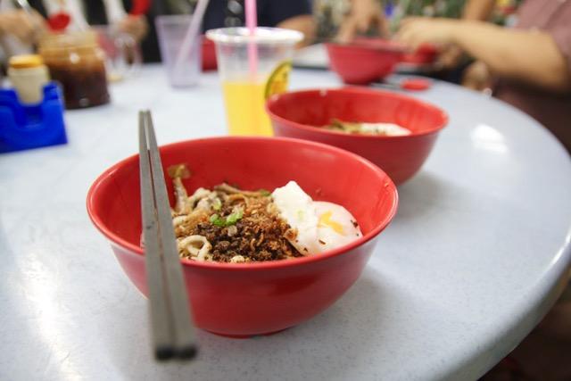 Food in KL: Chilli pan mee from Restoran Kin Kin