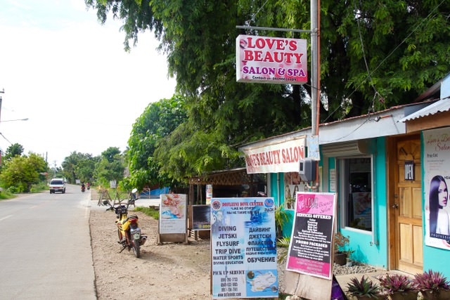 Love's Beauty Salon, Bohol, Philippines