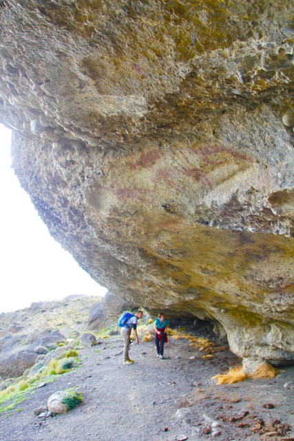 Parque Nacional Torres del Paine: Cave paintings
