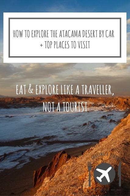 How to explore the Atacama Desert by car