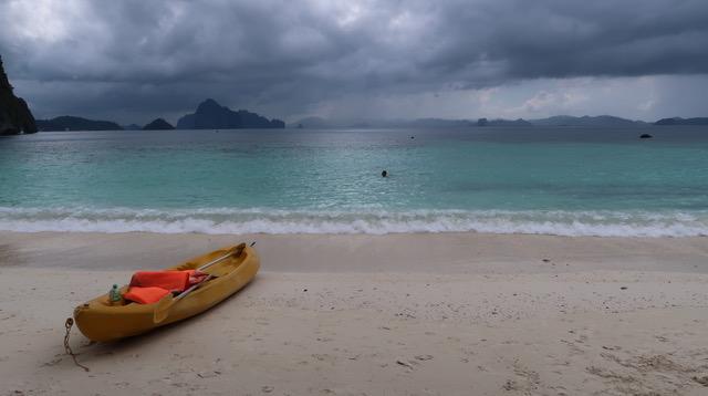 Papaya Beach, Palawan, Philippines