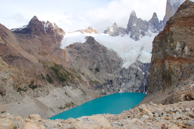 Patagonia Travel Guide: Glacial lakes at the base of Monte Fitz Roy, Patagonia, Argentina