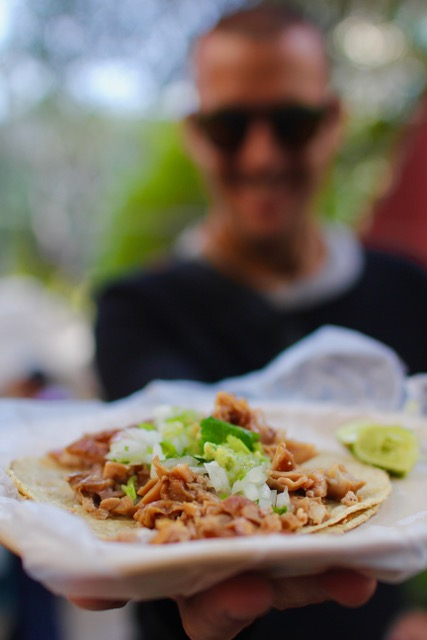 What to do in Mexico City: tacos de carnitas on the Eat Mexico Street Food tour
