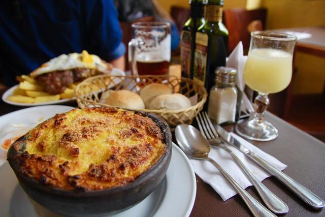 Where to eat Santiago: pastel de choclo at Galindo