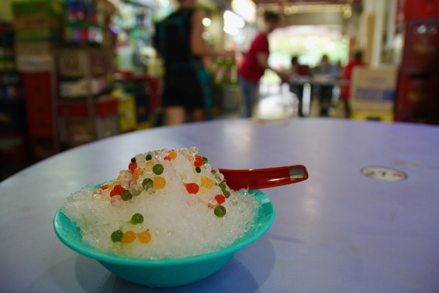Old Airport Road Food Centre: dessert from Blanco Hot and Cold Dessert