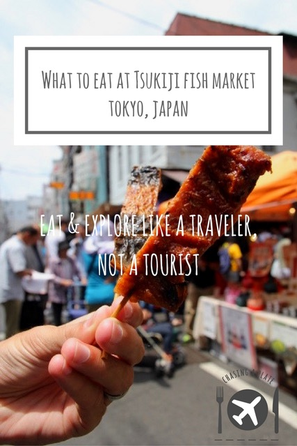 What to eat at Tsukiji Fish Market