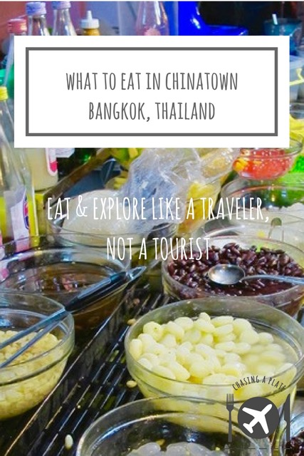 What to eat in Yaowarat, Bangkok