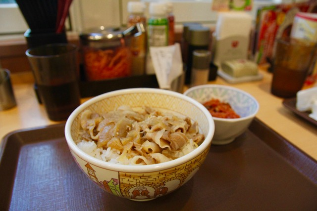 Where to eat in Tokyo: gyudon at Sukiya