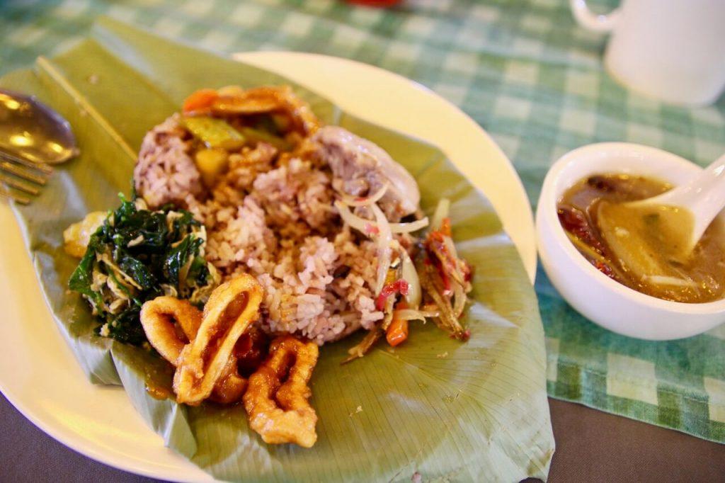 Traditional Kayan food, Kuching, Sarawak