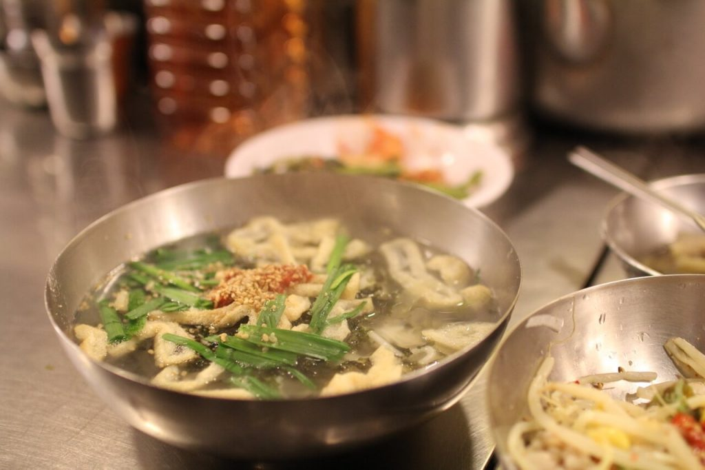 Kalguksu at Namdaemun Market, Seoul, South Korea