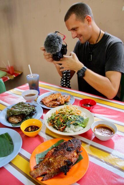 KL, Malaysia must eats ikan bakar