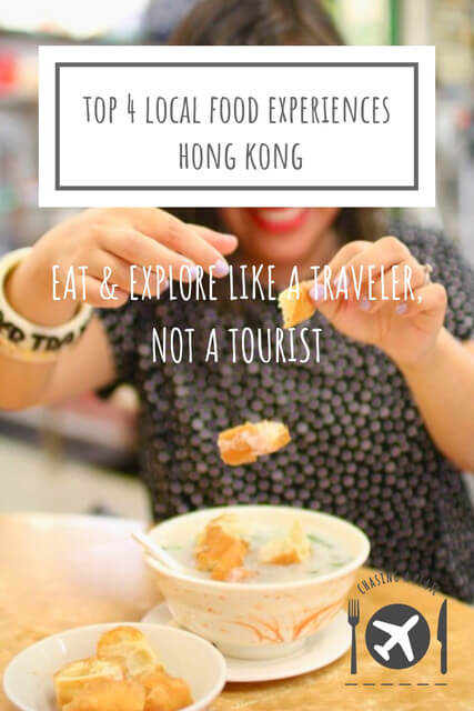Top 4 local food experiences Hong Kong