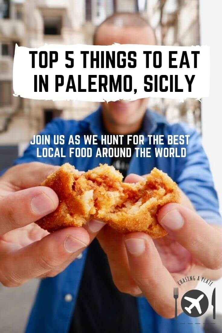 TOP 5 THINGS TO EAT IN PALERMO, SICILY