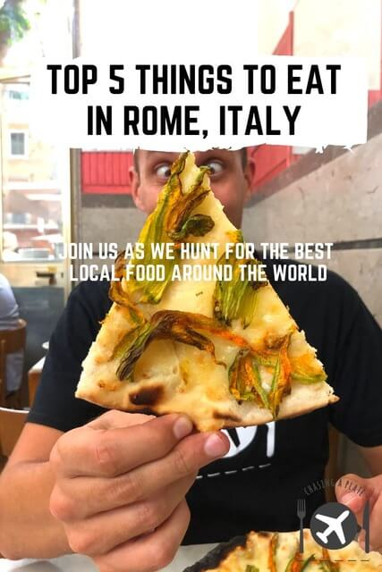 TOP 5 THINGS TO EAT IN ROME ITALY (1)